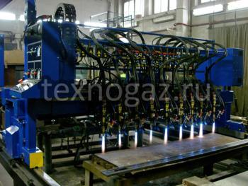 Машина газокислородной резки Кристалл ПКП-2,5 - вид спереди