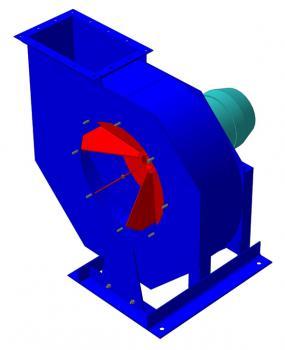 Вентиляторы пылевые радиальные ВРП  фото 1