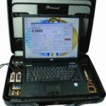 Расходомер-счетчик 2-х канальный для гомогенных сред и воды с ноутбуком (портативный вариант) фото 1